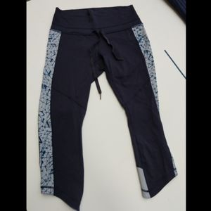 Lululemon Navy Blue Leggings size 10